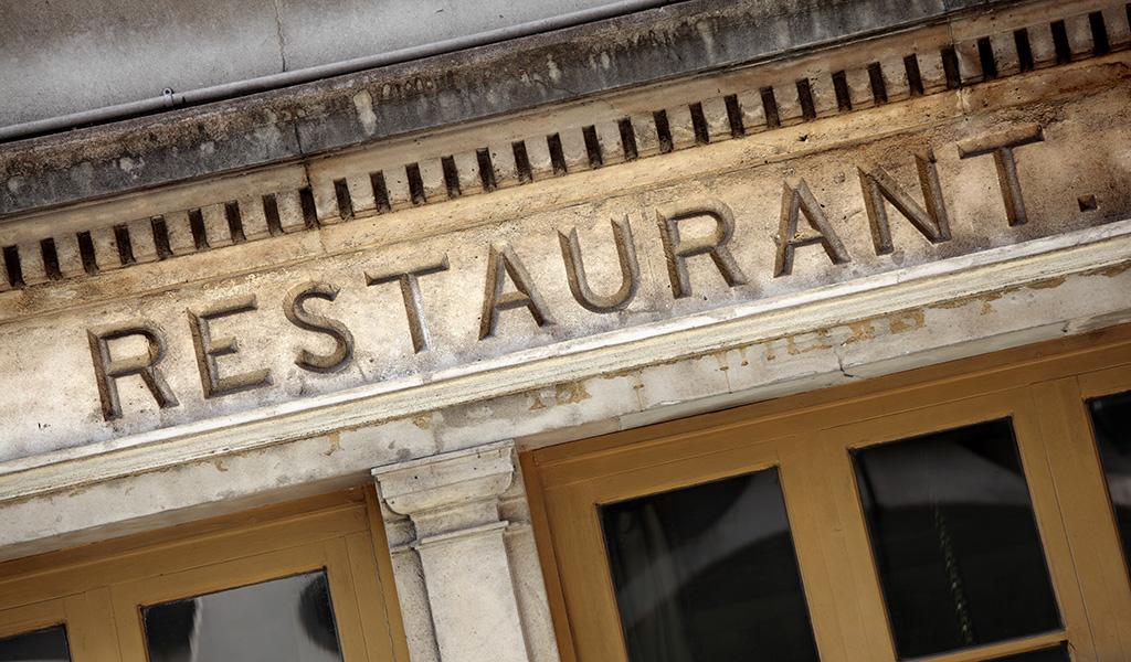 Confidential Oceanfront Restaurant